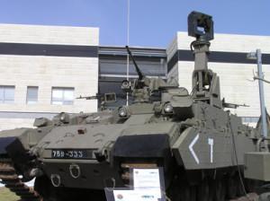 Puma israelian, bazat pe sasiul Centurion - Sursa: defense-update.com