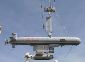 Semi-submersibil Dorado SeaKeeper, configuratie MCM - Sursa: Canadian Navy via navaldrones.com
