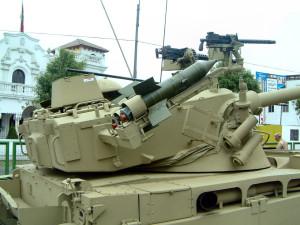 Instalate pe AMX-13 - Sursa: José Luis Silva Chang via primeportal.net