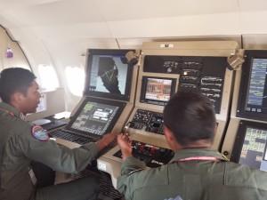 Thales AMASCOS instalat pe CN-235 indonezian - Sursa: Stefan Nitschke via nafomag.com