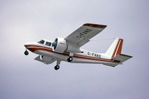BN-2 G-FANS - Sursa: Steve Fitzgerald via wikimedia.org
