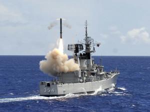 Lansare a unei rachete Yakkont de pe o fregata indoneziana din clasa Van Speijk - Sursa: jakartagreater.com