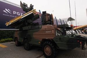 Mock-up 9A33 cu rachetele IRIS-T - Sursa: shephardmedia.com