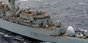 Pe cand Harpoon erau noi - Sursa: seaforces.org