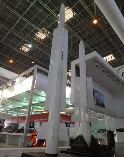 Proiectul DRDO+MBDA - SRSAM - Sursa: brahmand.com