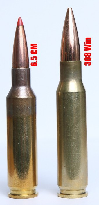 6.5 Creedmoor vs .308 Winchester - Sursa: huntinggearguy.com