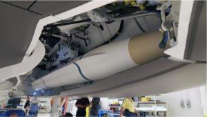 Macheta AARGM-ER in cala F-35 - Sursa: orbitalatk.com