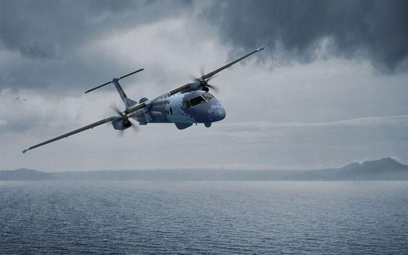 Swordfish pe Q400 - Sursa: naval-technology.com